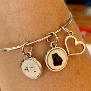 Atlanta Georgia Charm Bracelet